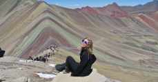 Rainbow Mountain, Perù
