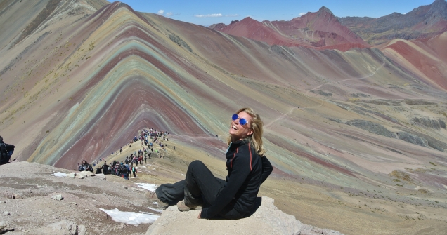 Rainbow Mountain, Perù