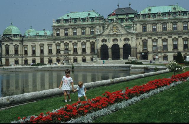 1989 n12 20 Vienna Belvedere Francesco e Cecilia diaGDB 1